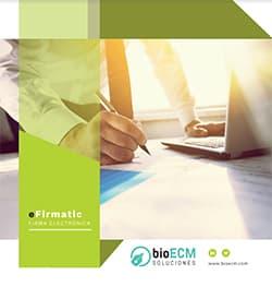 firma electrónica con certificado-eFirmatic